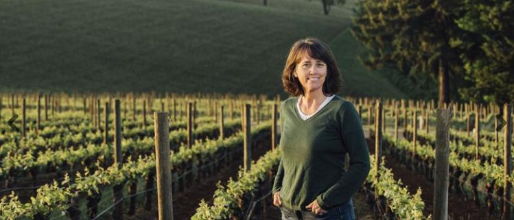 Women in the vineyard